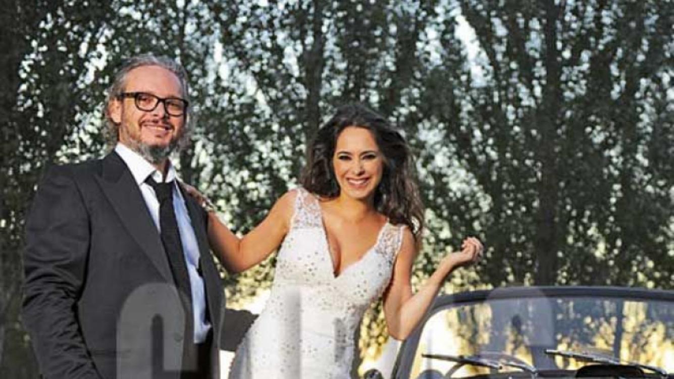 El álbum íntimo de la boda de Victoria Vanucci y Matías Garfunkel. (Foto: Revista Caras)