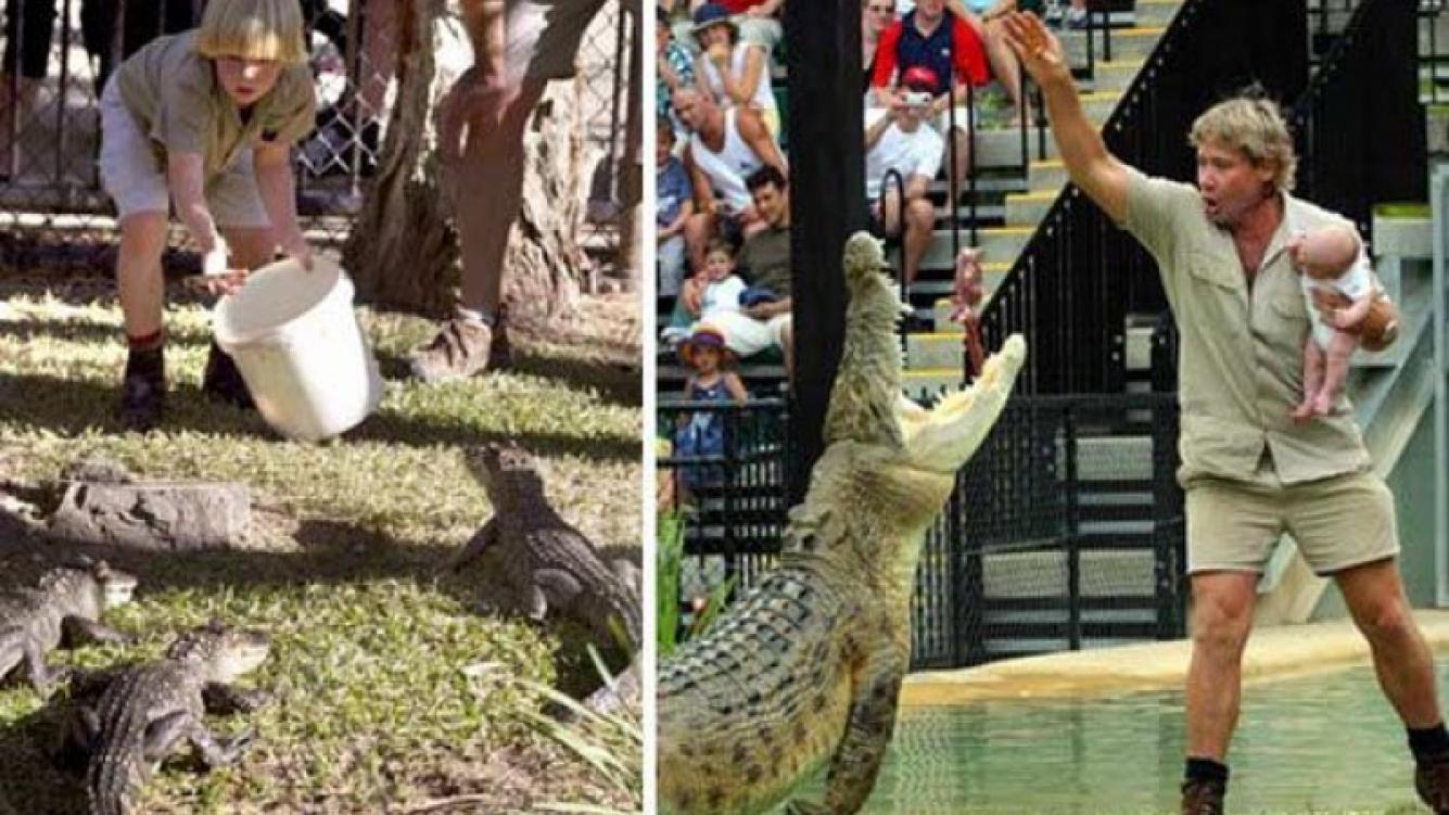 El hijo del cazador de cocodrilos sigue los pasos del padre. (Foto: Web)