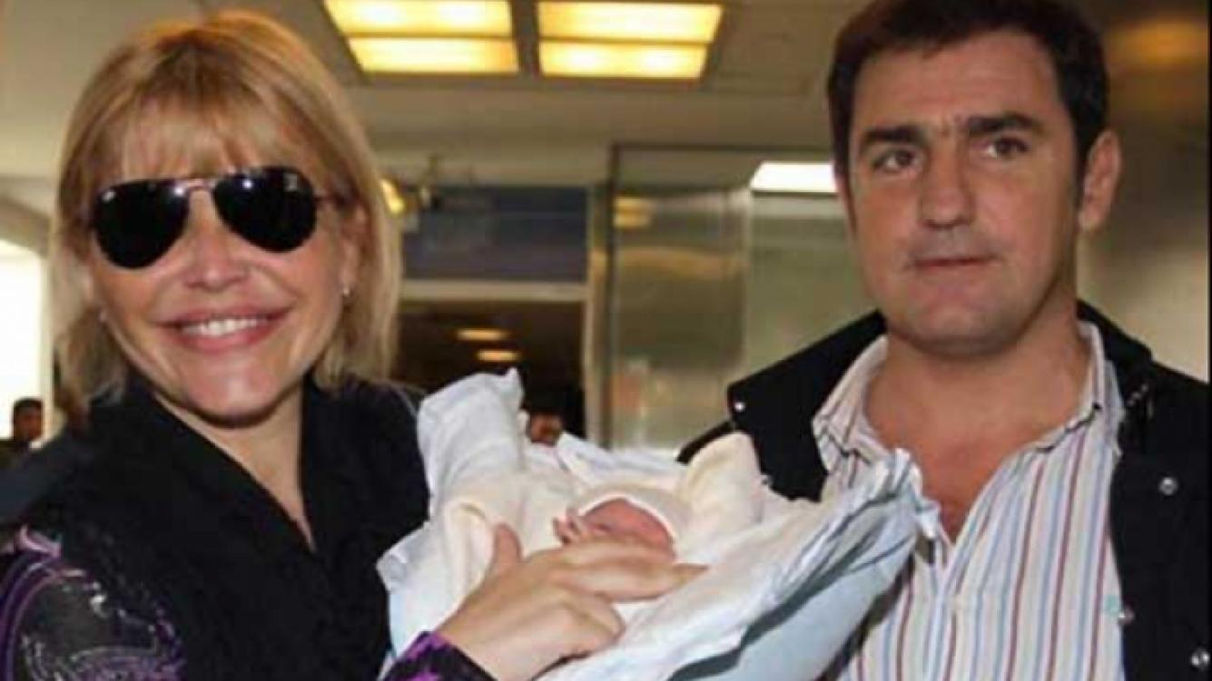 Nazarena Vélez, Thiago y Fabián Rodríguez, una familia feliz. (Foto: Web)