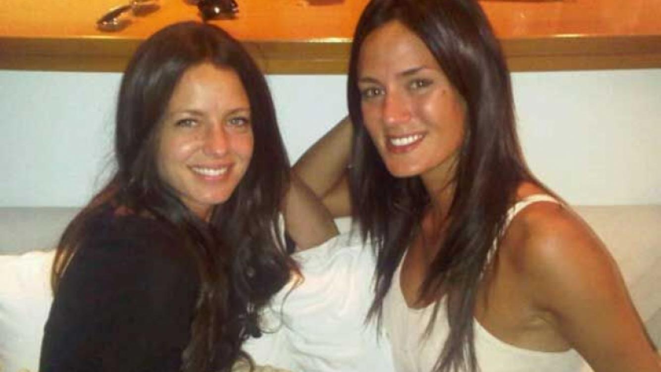 Geraldine Neumann y Paula Chaves, morochas. (Foto: Web)