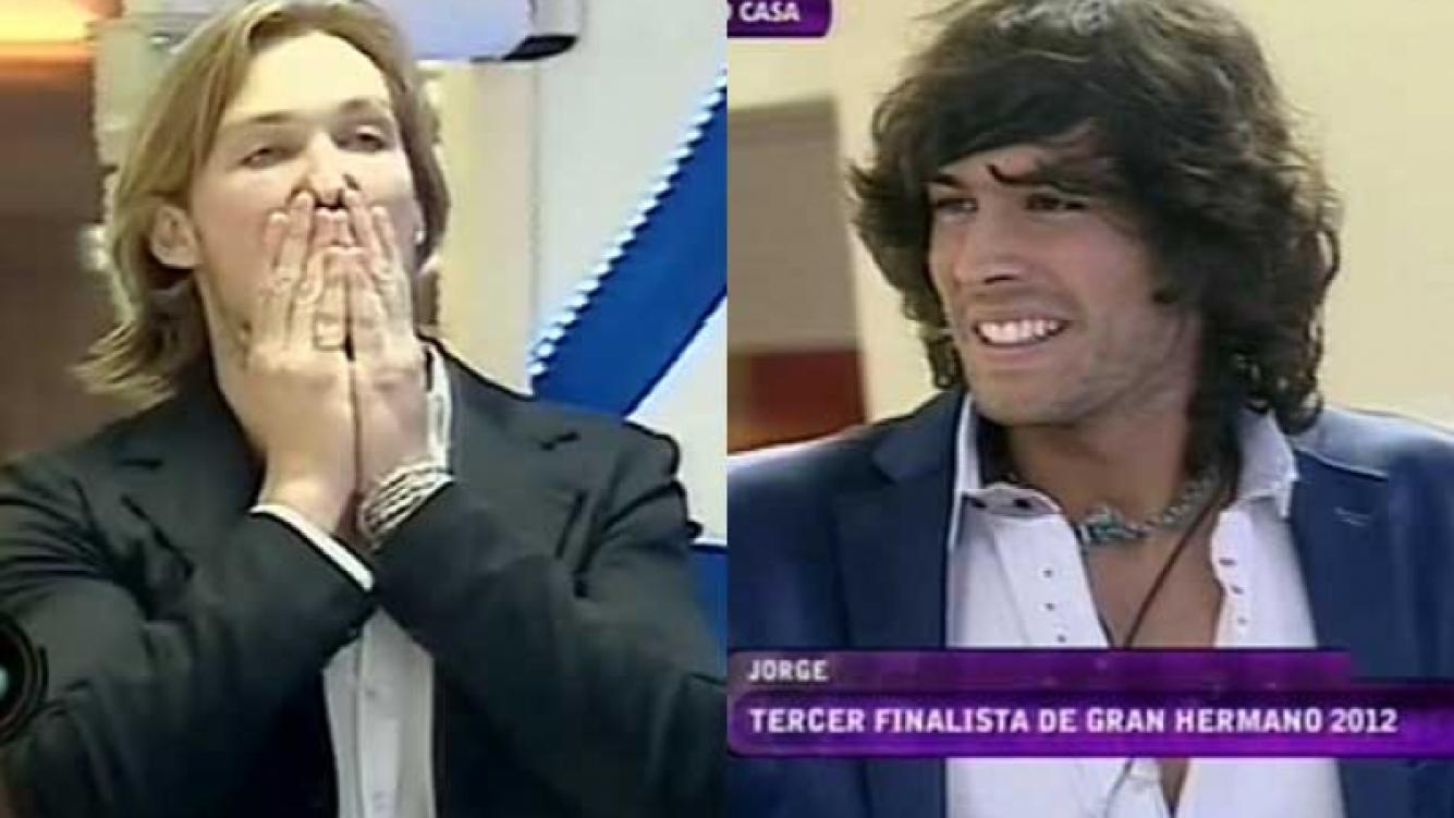 Alex y El Tucu, cuarto y tercero en la final de GH 2012.