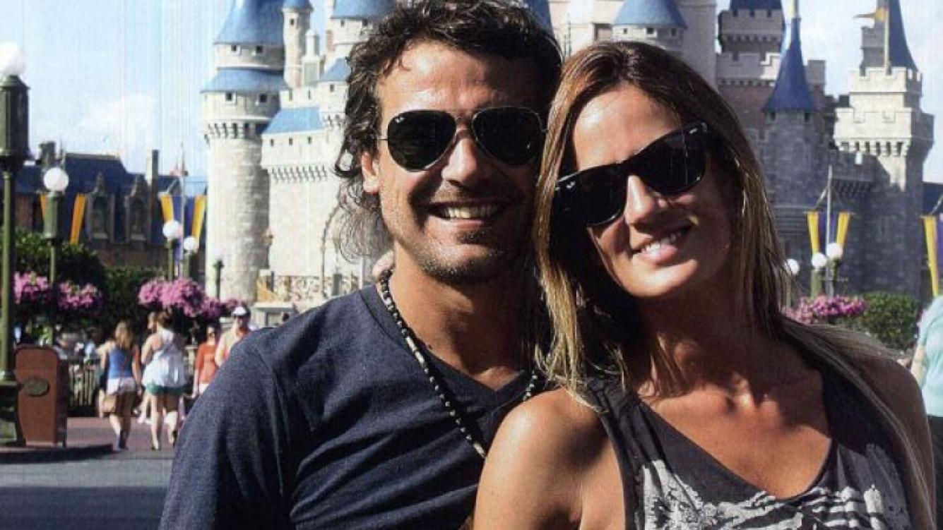 Paula Chaves y Pedro Alfonso disfrutando de los parques de Orlando (Fotos: Revista Gente)