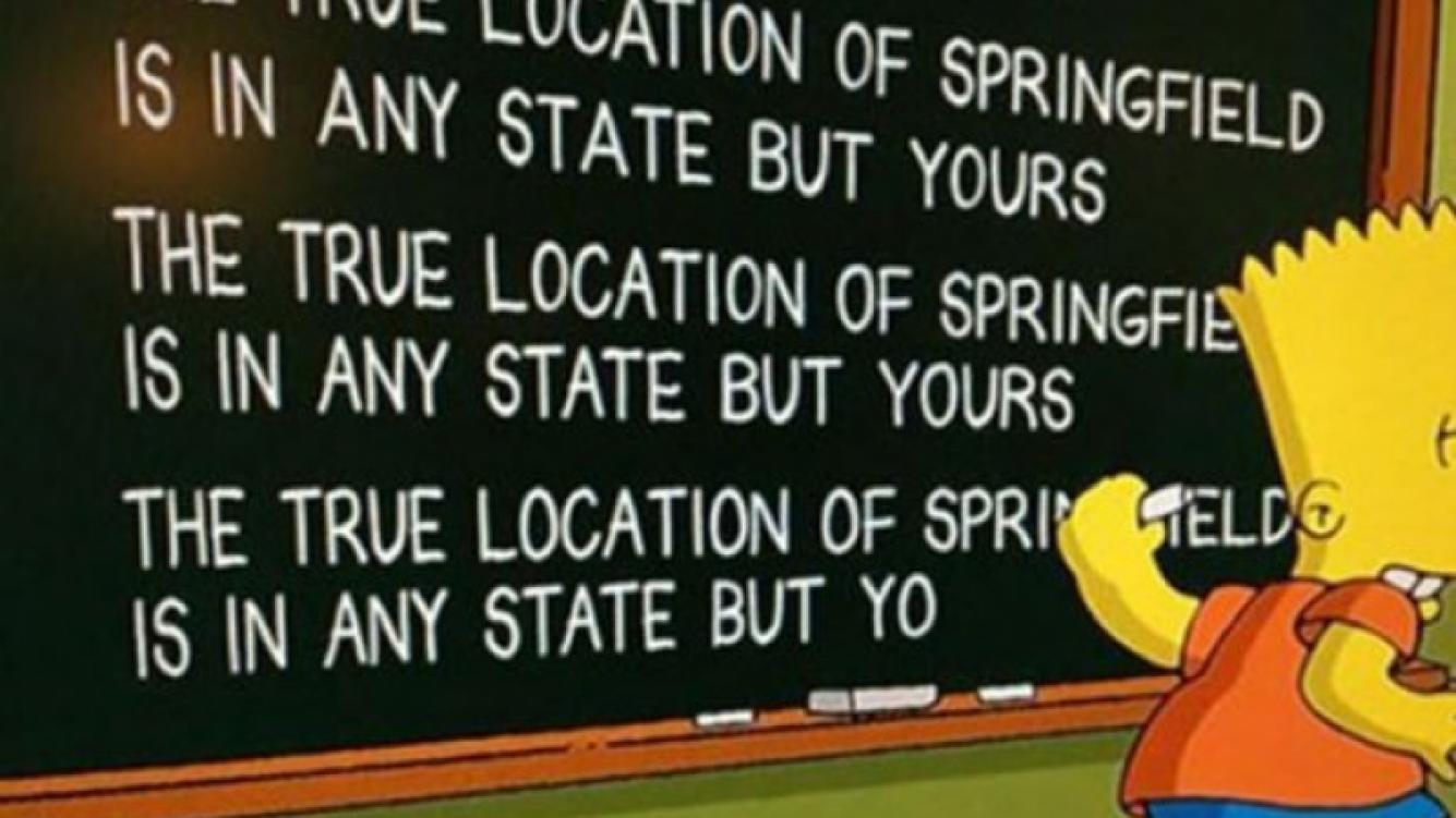 Finalmente, Springfield no queda en Oregon. (Foto: Web)