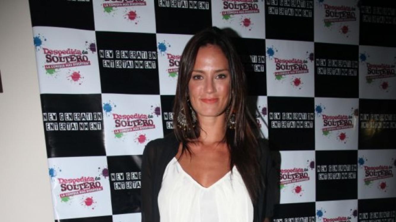 Paula Chaves en la presentación de la gira de Despedida de soltero.