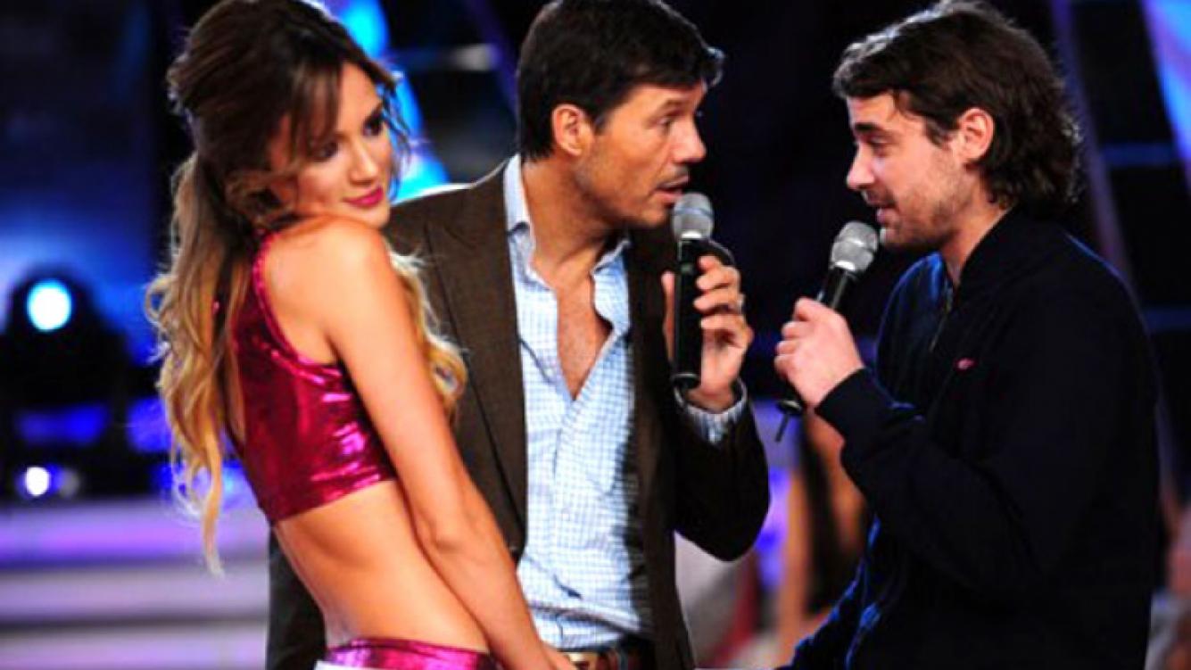 Paula y Peter, otra vez con Marcelo Tinelli en Bailando. (Foto: Ideas del Sur)