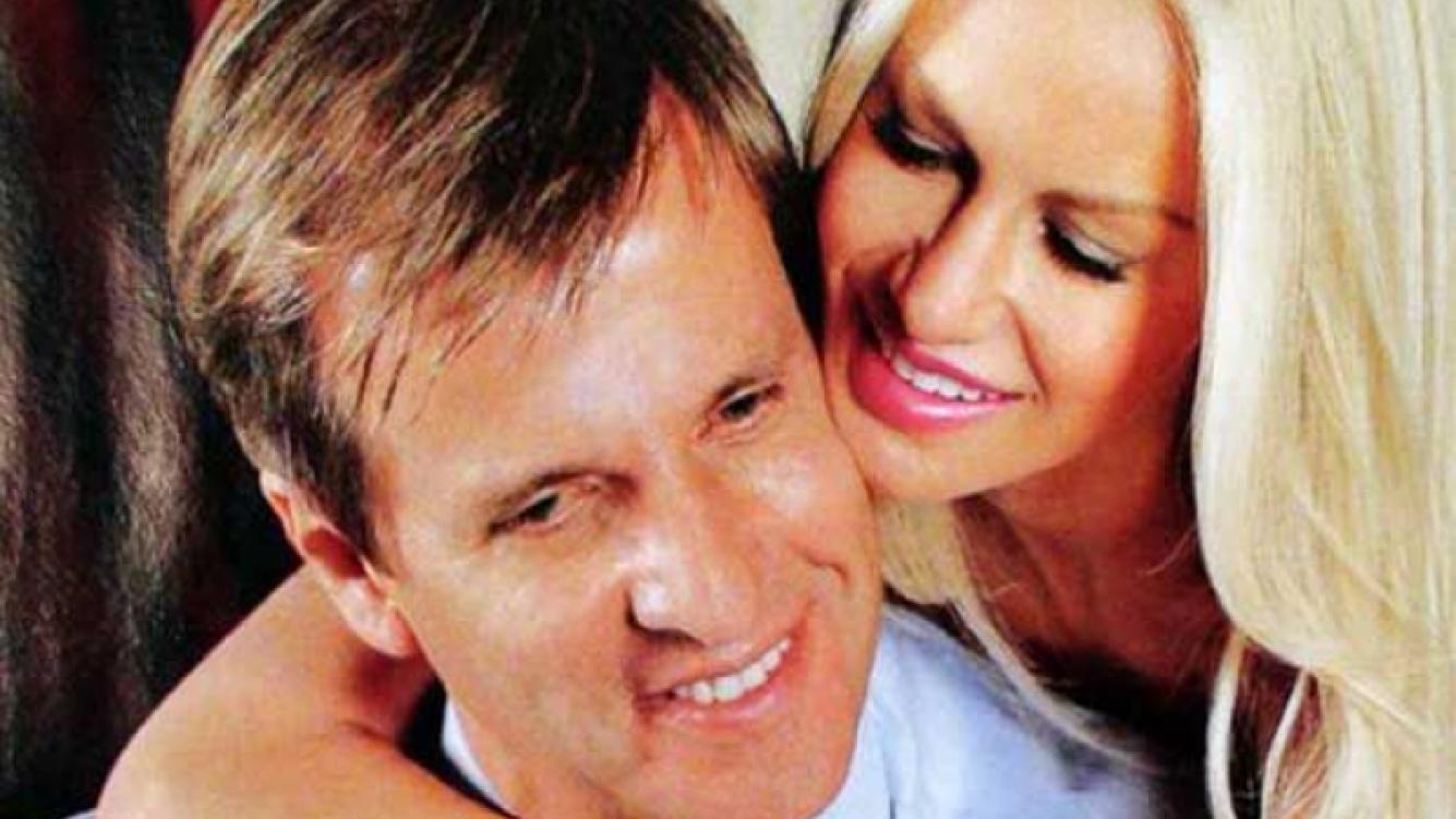 Luciana Salazar y Martín Redrado, enamorados. (Foto: revista ¡Hola! Argentina)