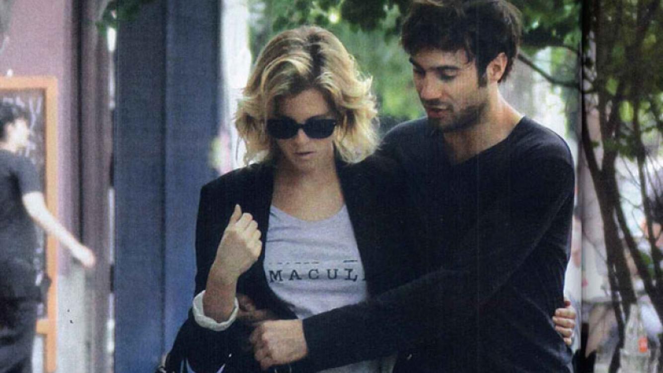 Liz Solari y su novio italiano, reconciliados y enamorados en Palermo (Foto: Gente).