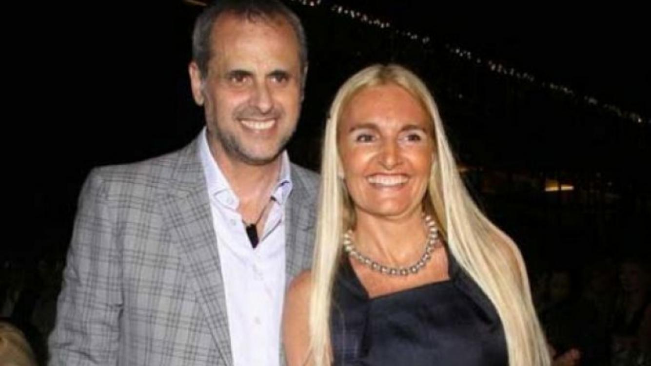 Jorge Rial y Jorge Rial y Silvia D Auro, cuando su matrimonio era todo sonrisas. (Foto: Web)