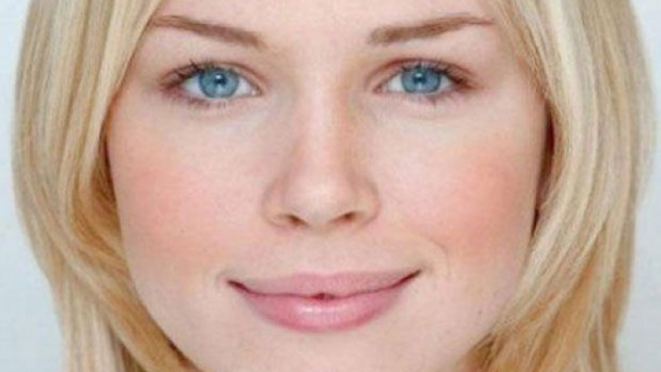 Florence Colgate, la mujer con la cara más matemáticamente bella de Inglaterra. (Foto: Web)