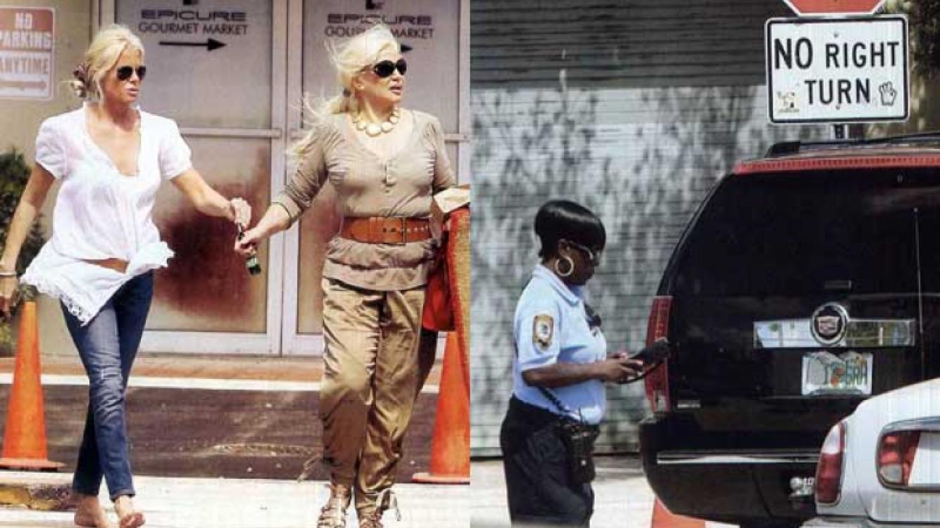 Mercedes Sarrabayrouse y Susana Giménez, multadas en Miami. (Fotos: Pronto y Gente)