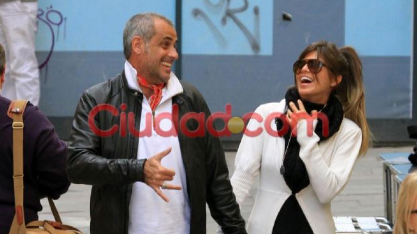Jorge Rial y la Niña Loly: el detrás del romance del año. (Foto: Ciudad.com)