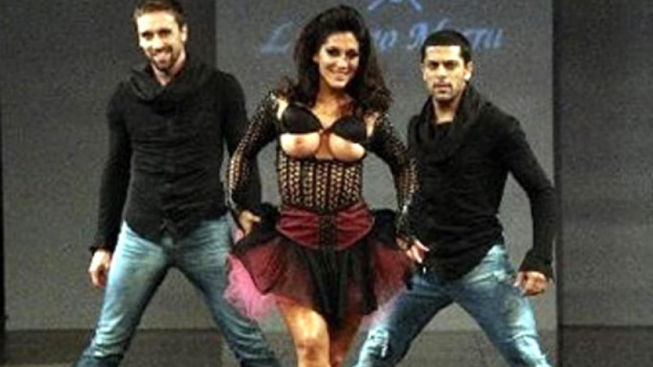 El topless de Silvina Escudero. (Foto: Laubfal.com)
