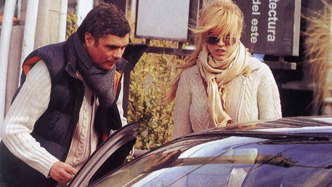 Viviana Canosa y Alejandro Borensztein, juntos en Punta del Este. (Foto: Pronto)