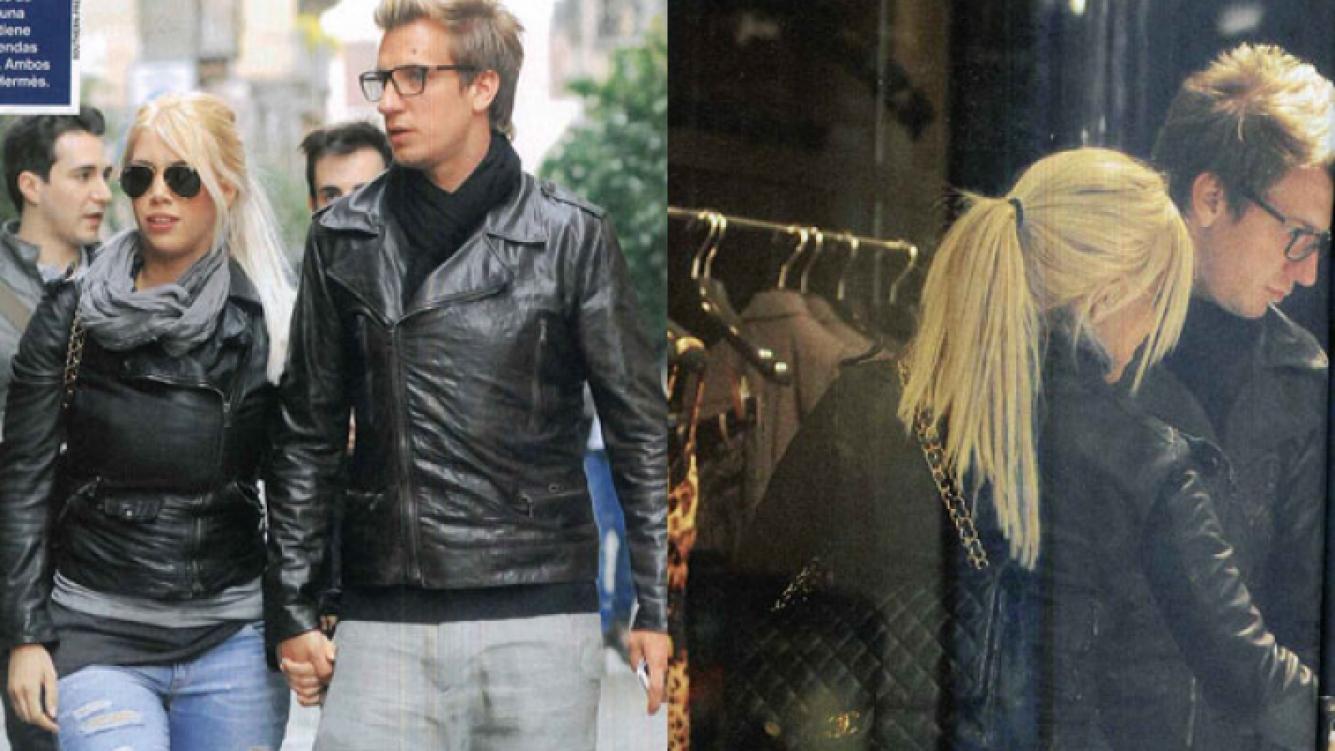 Wanda Nara y Maxi López, de shopping por Milán (Foto: Revista Caras).
