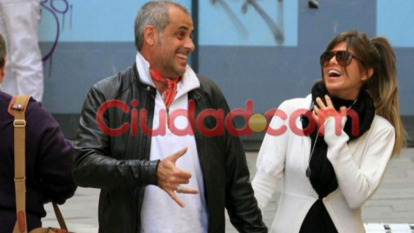 """Jorge Rial y Mariana """"Loly"""" Antoniale en Italia. (Foto: Ciudad.com)"""