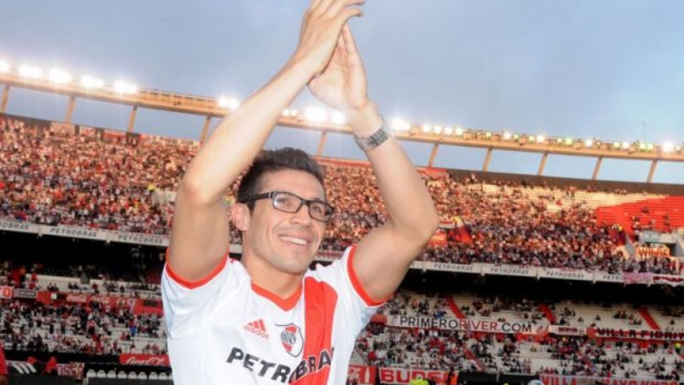 Sergio Maravilla Martínez homenajeado en por River Plate, el club de sus amores, (Foto: Web)