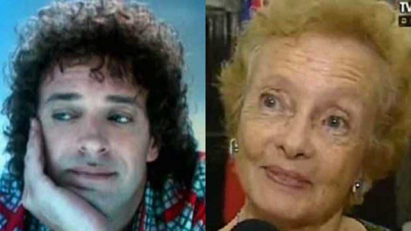 Gustavo Cerati y Lilian Clark, su madre (Fotos: Web)