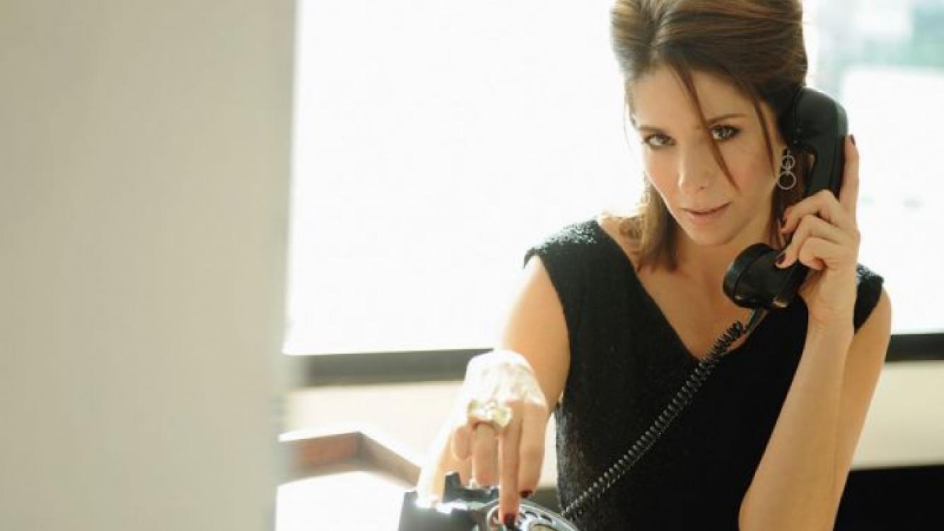 Laura Novoa, la nueva villana de Dulce amor. (Foto: revista Luz)