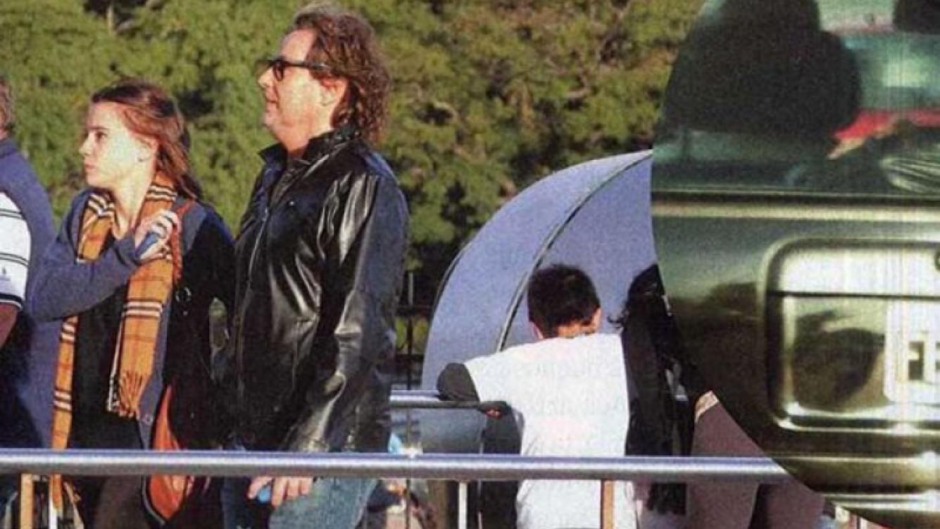 ¿Quién es el hombre que acompaña a Celeste Cid? (Foto: Revista Paparazzi)