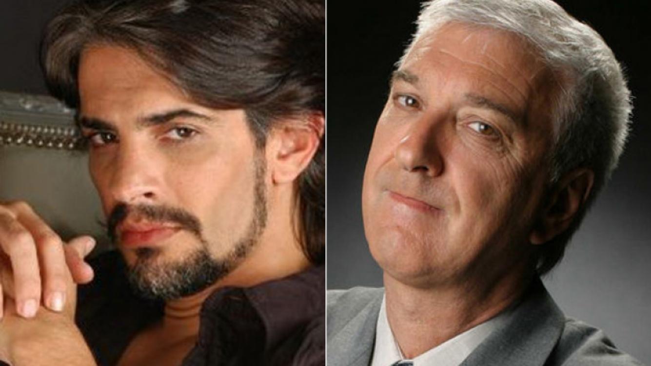 Pablo Echarri y Mauro Viale, un enfrentamiento que se reavivó. (Fotos: Web)