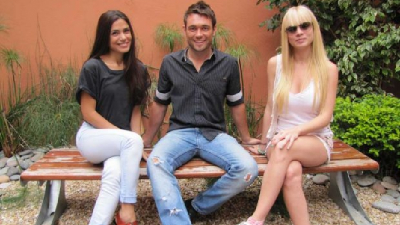 Carolina Morales, Agustin Belforte e Ivanna Palliotti, los conductores de SM$. (Foto: CMD)