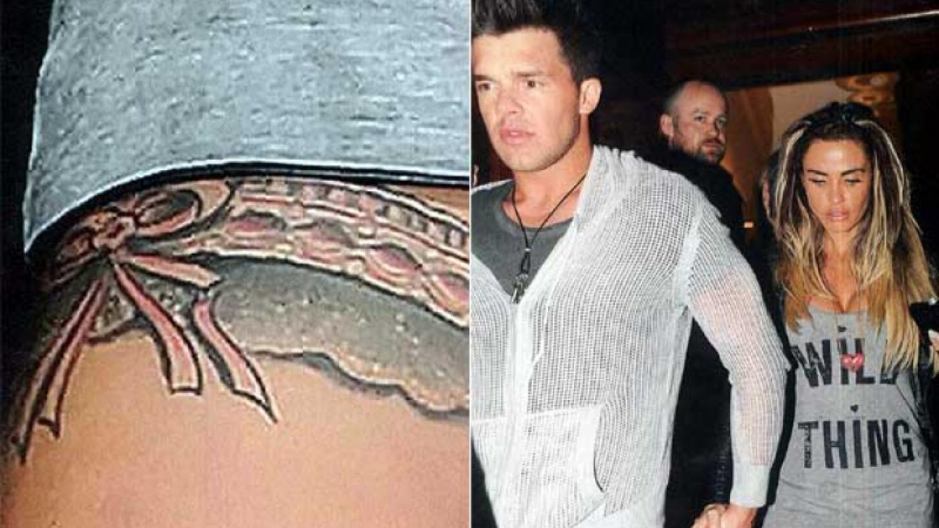 El tatuaje de Katie Price. (Foto: revista Caras)