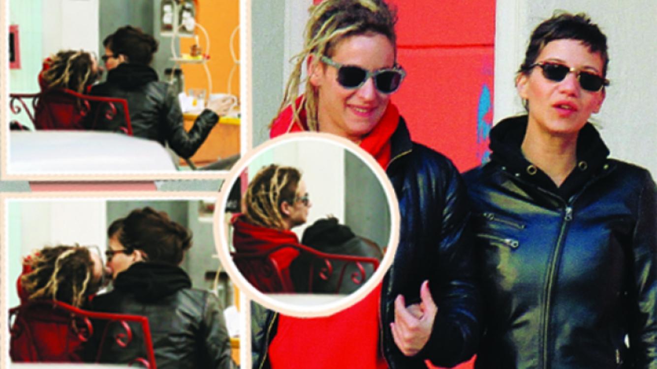 Jowi Campobassi y su novia Emilia. (Fotos: revista Paparazzi)