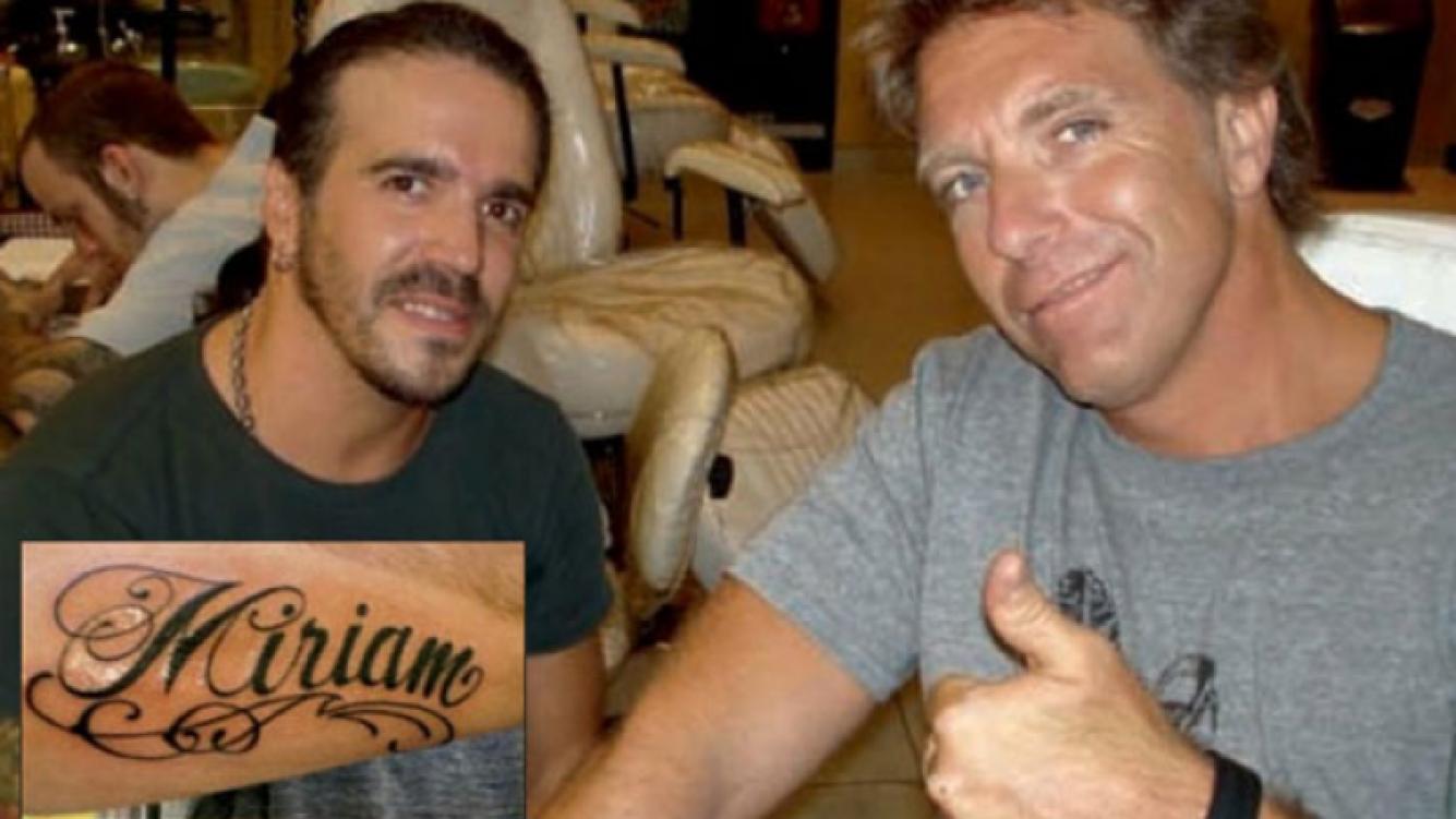 En marzo de este año, Fantino se hizo un tatuaje con el nombre de su esposa: Miriam. (Foto: revista Caras)