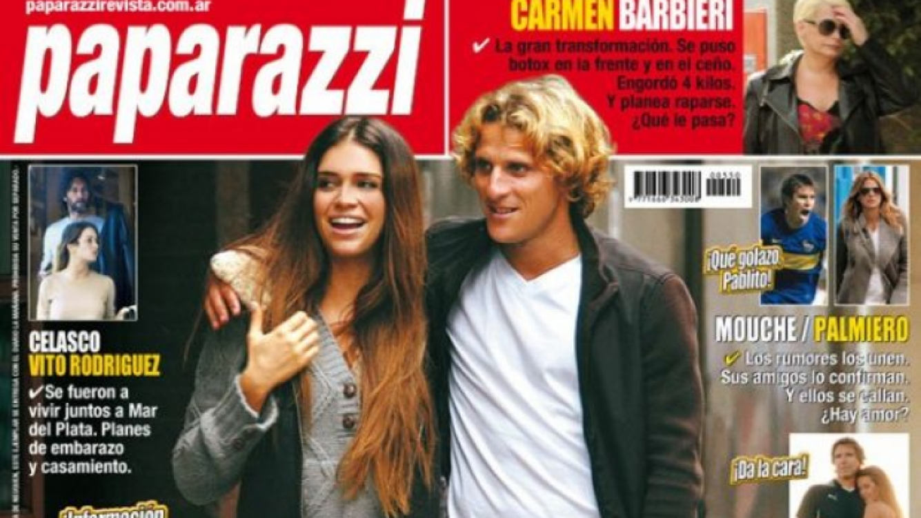 Zaira Nara y Diego Forlán: ¿Reencuentro en Milán? 8foto: Revista Paparazzi)