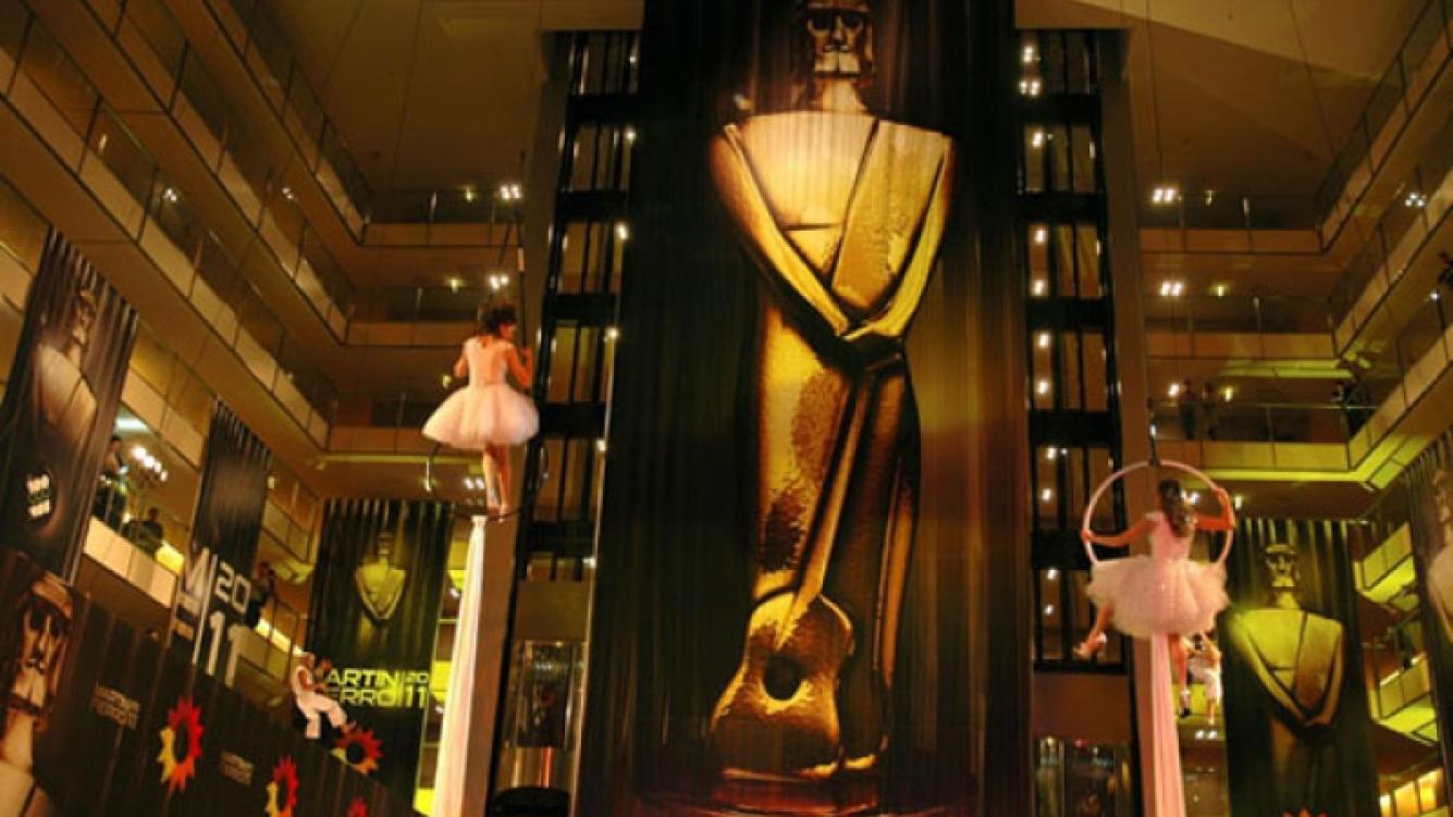 El hotel Hilton será nuevamente el escenario de la gran fiesta de los Martín Fierro. (Foto: El Trece)