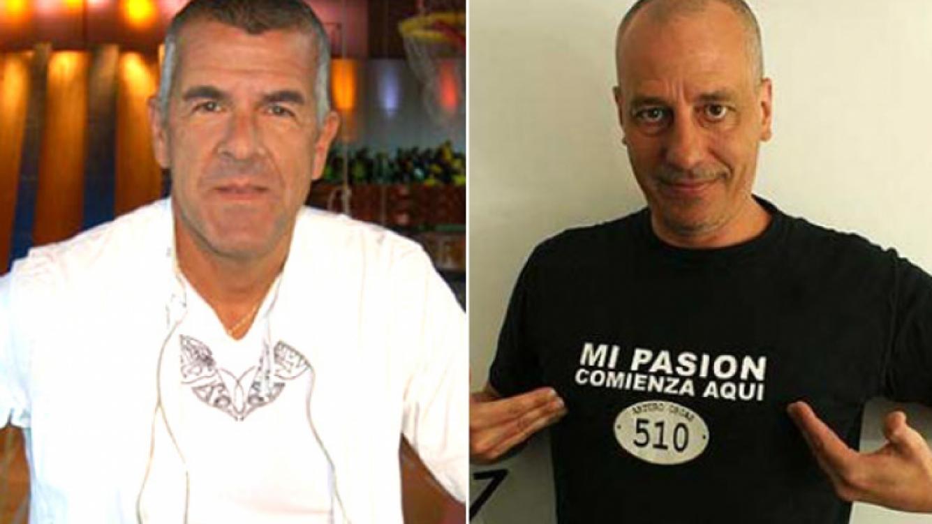Dady Brieva bancó a Yayo Guridi. (Fotos: Web)