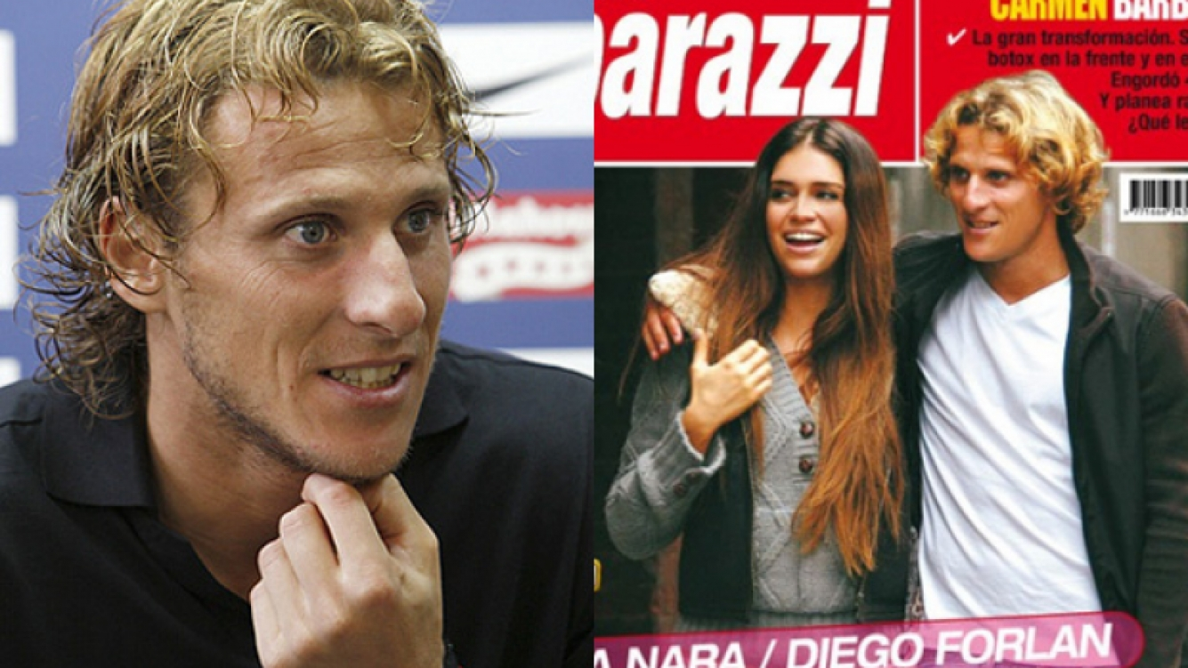 Habló Diego Forlán: ¿hubo reencuentro con Zaira Nara?
