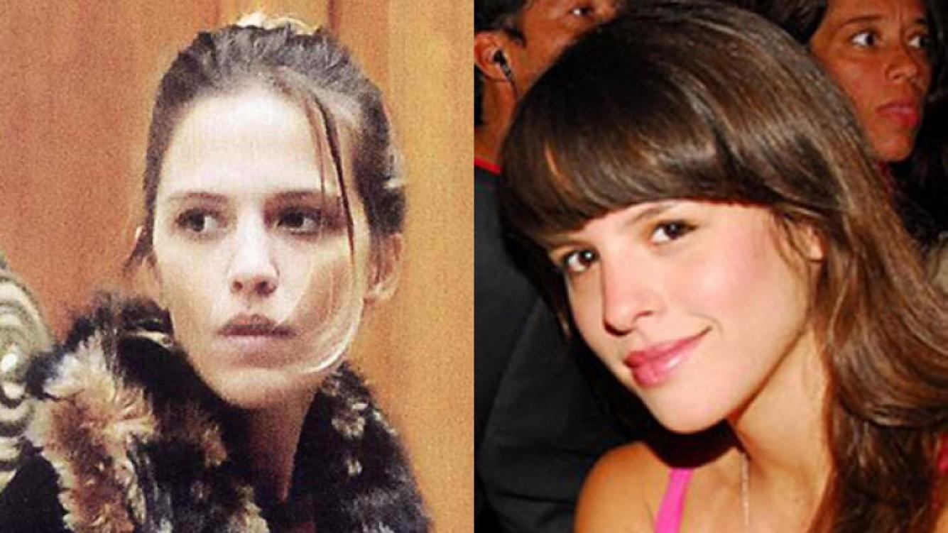 ¿Se parecen? La novia de Sebastián y su hermana, Rosario (Fotos: ¡Hola! y Web).