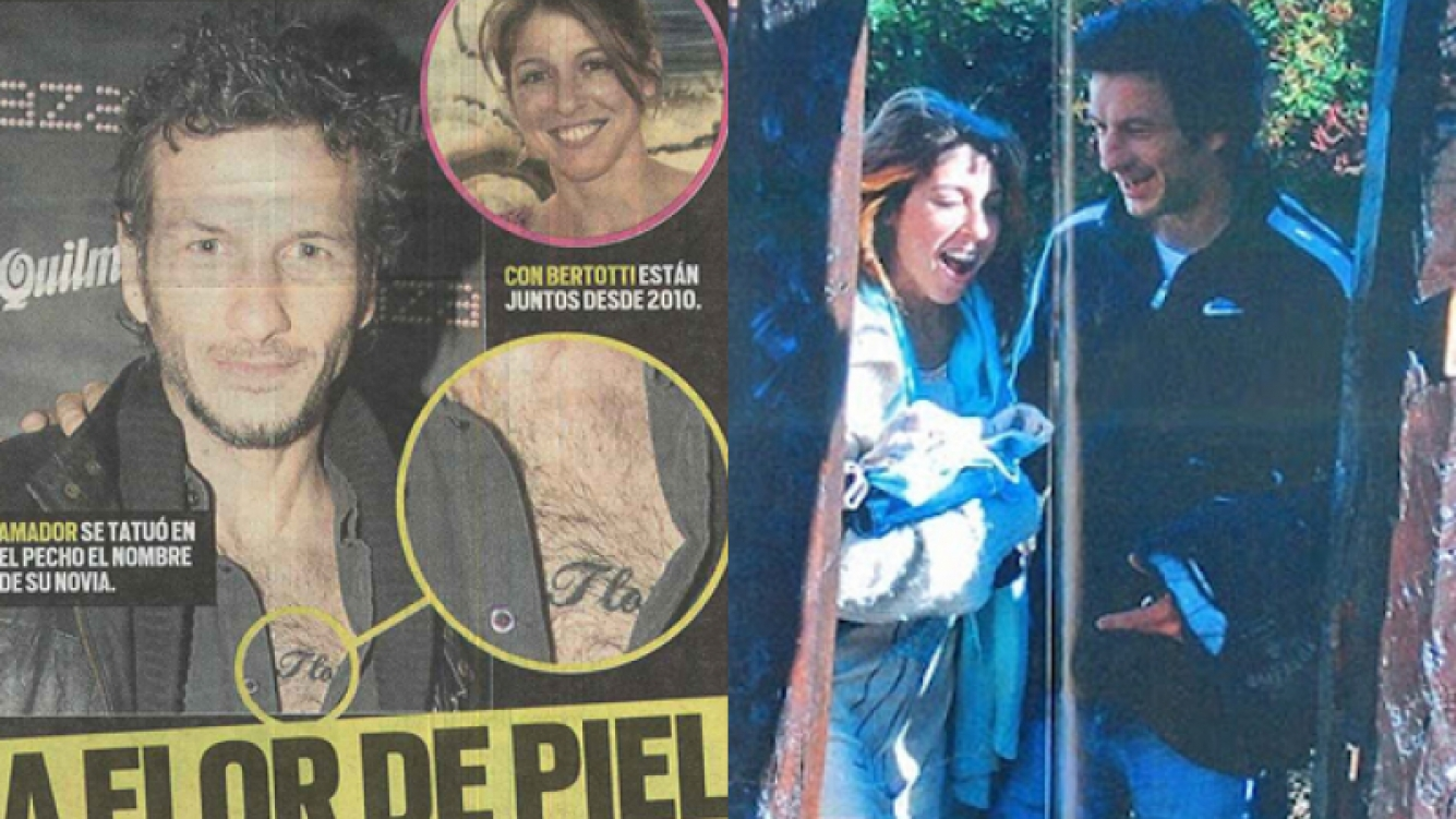 El tatuaje de Federico Amador. (Foto: Muy)