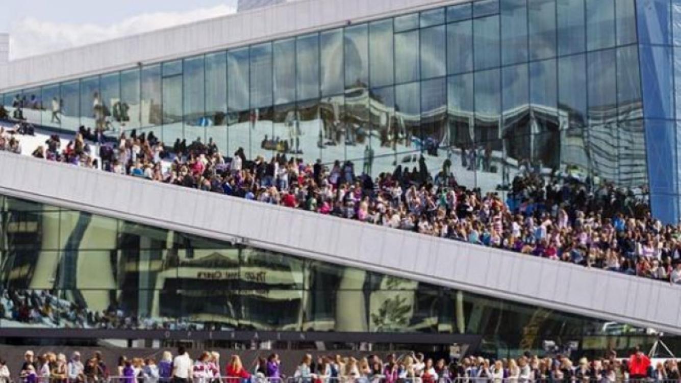Justin Bieber convulsionó Noruega. (Foto: Web)