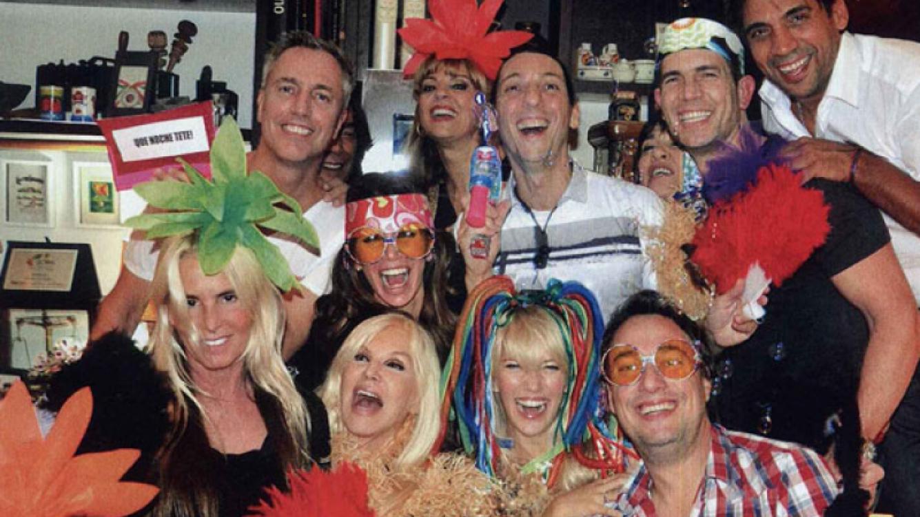 Marley reunió a sus amigos más famosos en su cumple (Foto: Caras).