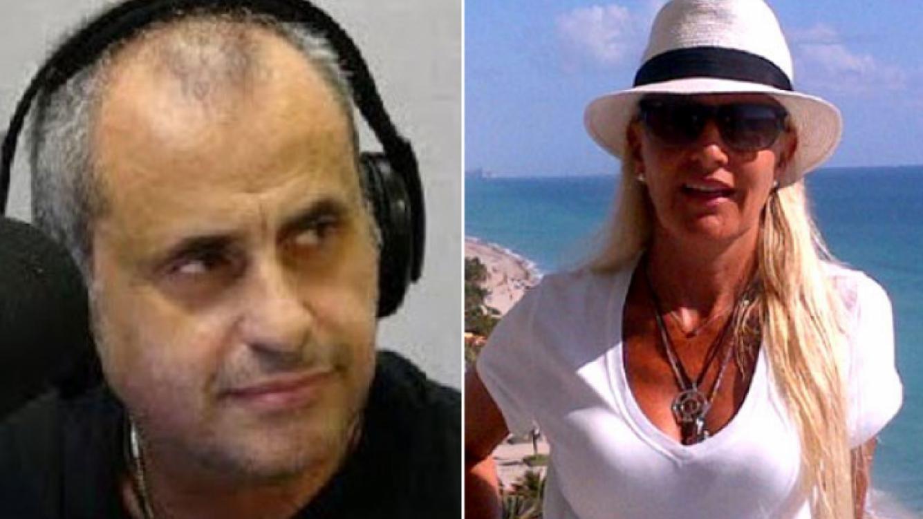 Jorge Rial y Silvia D Auro, un divorcio cada vez más escandaloso. (Fotos: Web)