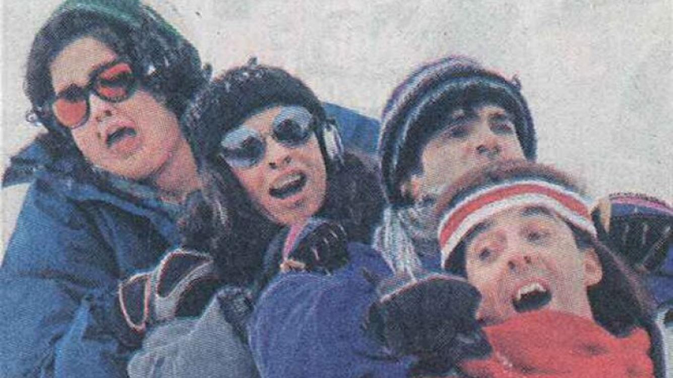 Graduados están grabando en Bariloche. (Foto: diario Crónica)