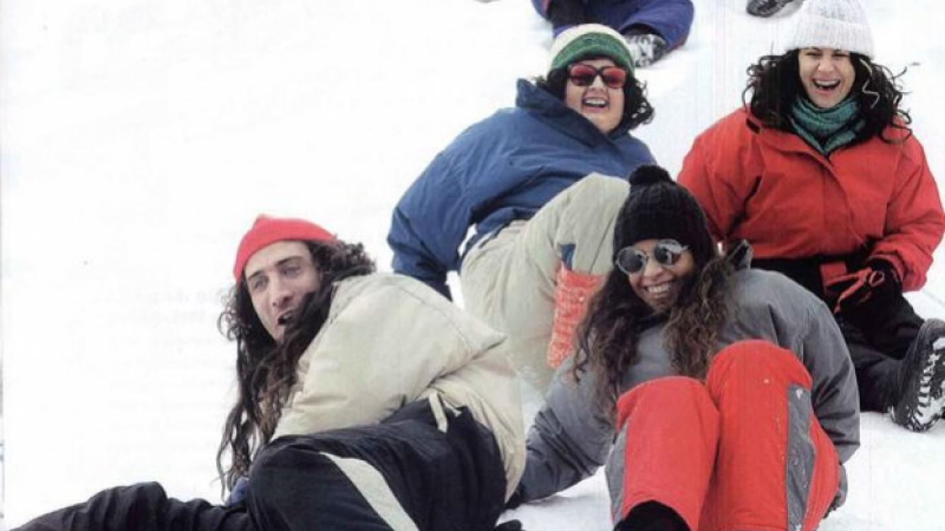 Las fotos íntimas de Graduados en Bariloche. (Foto: Gente)
