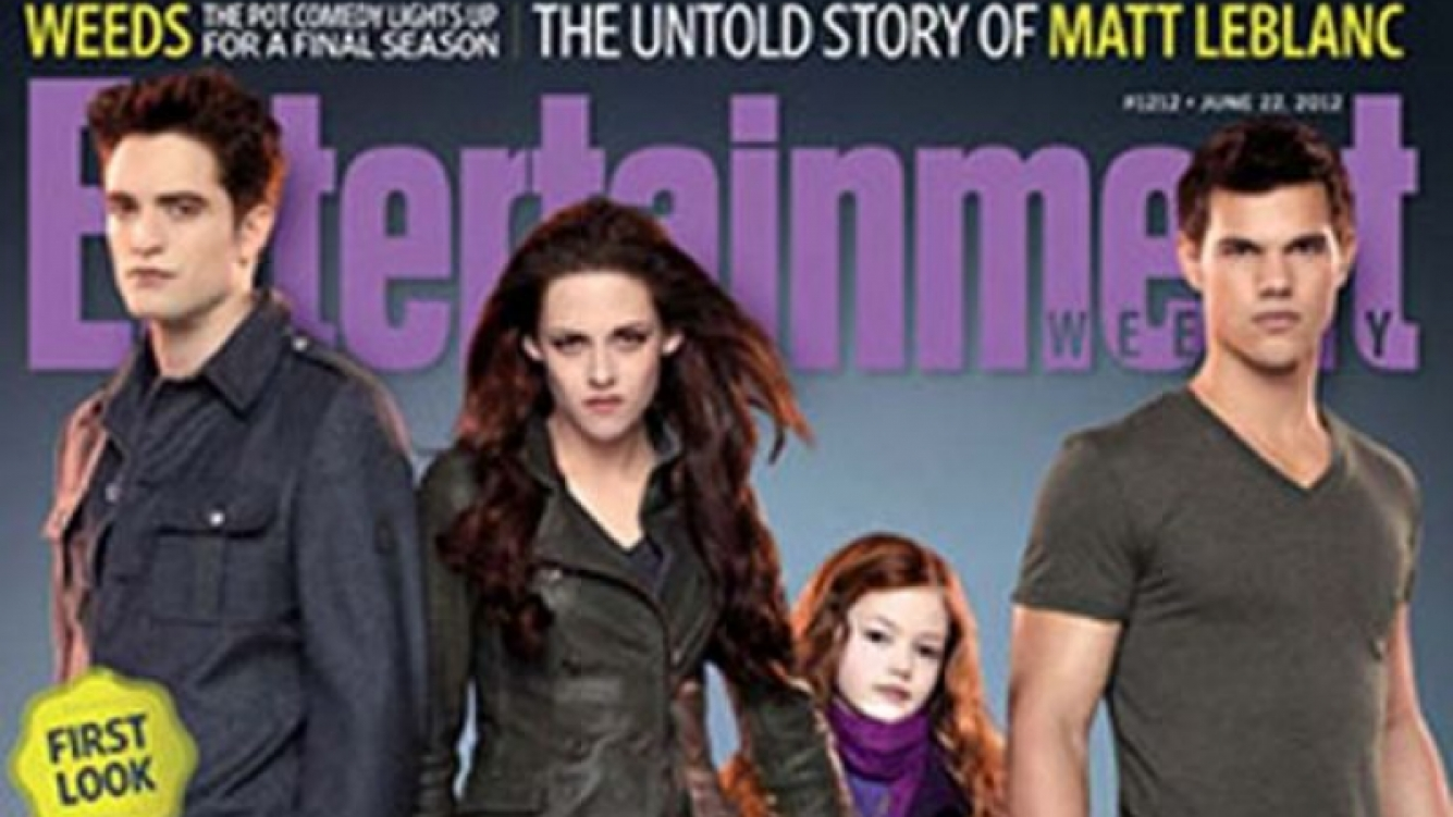 La primera imagen oficial de la hija de Edward y Bella en Amanecer 2. (Foto: Web)