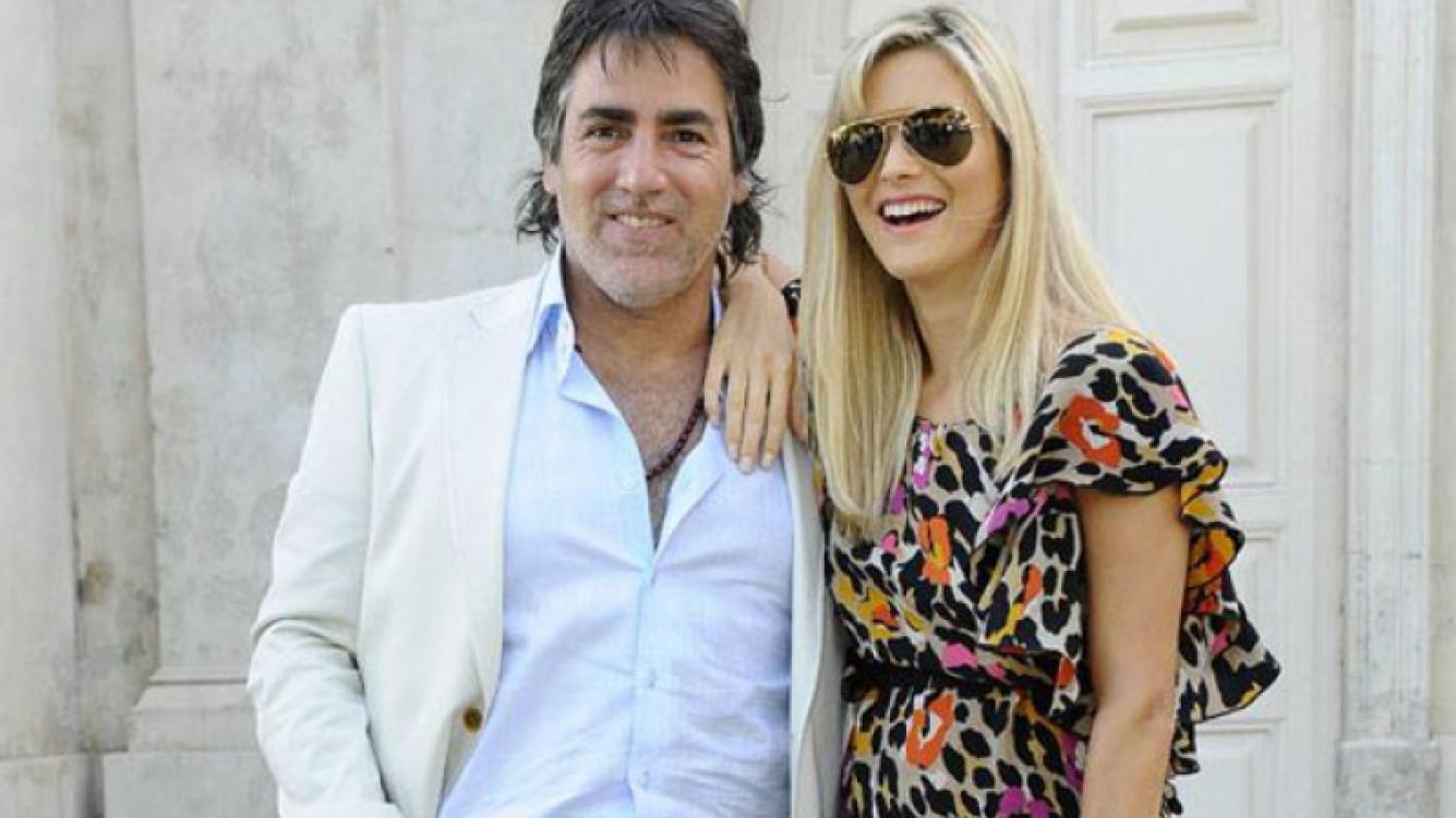 Pía Slapka y Paul García Navarro recibieron a Gerónimo (Foto: Web).
