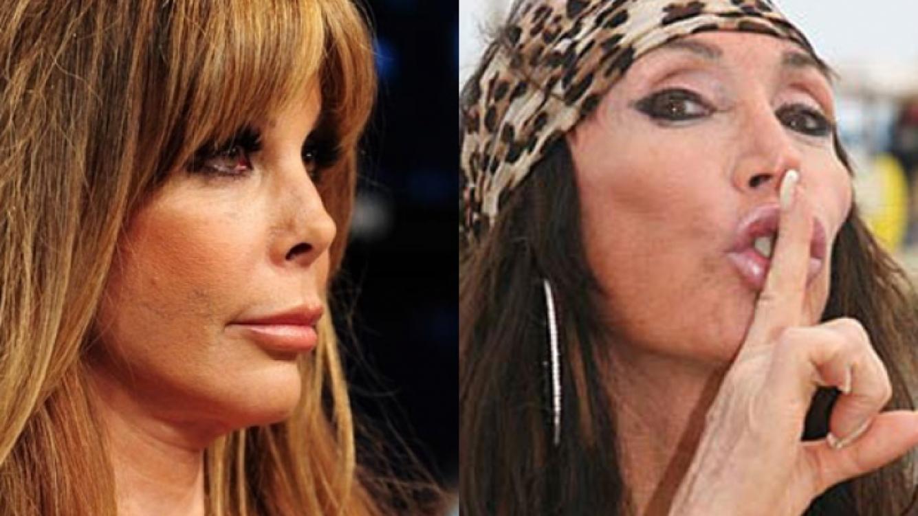 """Moria Casán le tiró un """"palito"""" a Graciela Alfano. (Foto: Web)"""