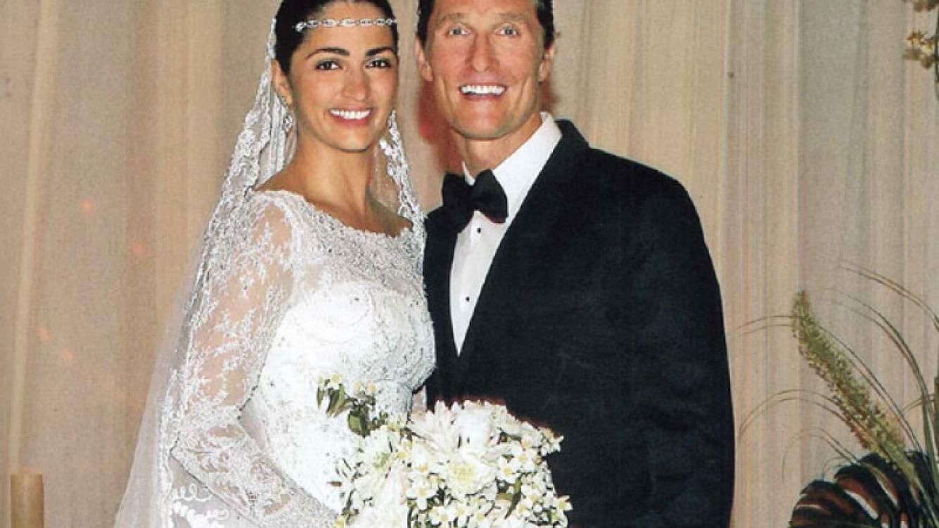 Las fotos íntimas del casamiento de Mathew McConaughey. (Foto: revista ¡Hola! Argentina)