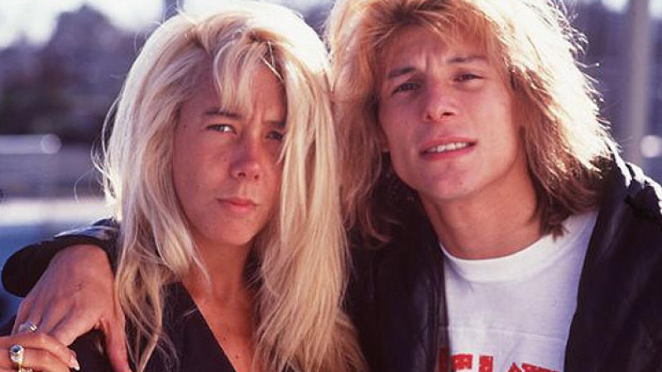 Mariana Nannis y Claudio Caniggia, en los comienzos de su relación. (Foto: Web)