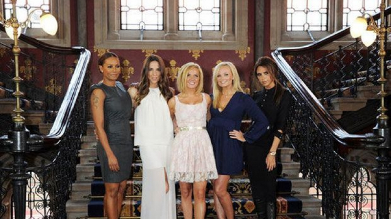 Las Spice Girls presentaron su musical. (Foto: people.com)