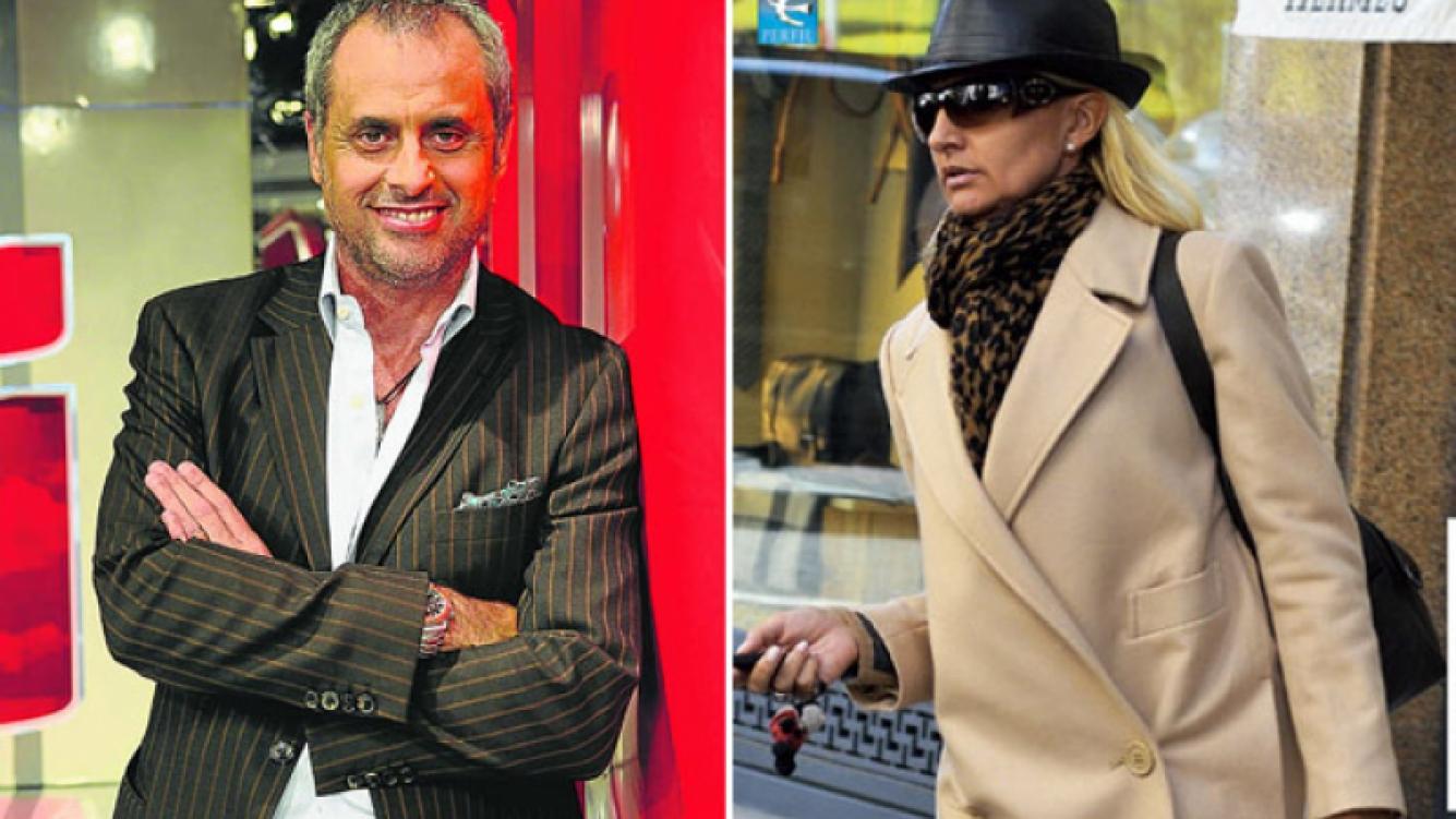 Jorge Rial y Silvia D Auro, nuevo capítulo del escandaloso divorcio. (Fotos: revistas Semanario y Caras)