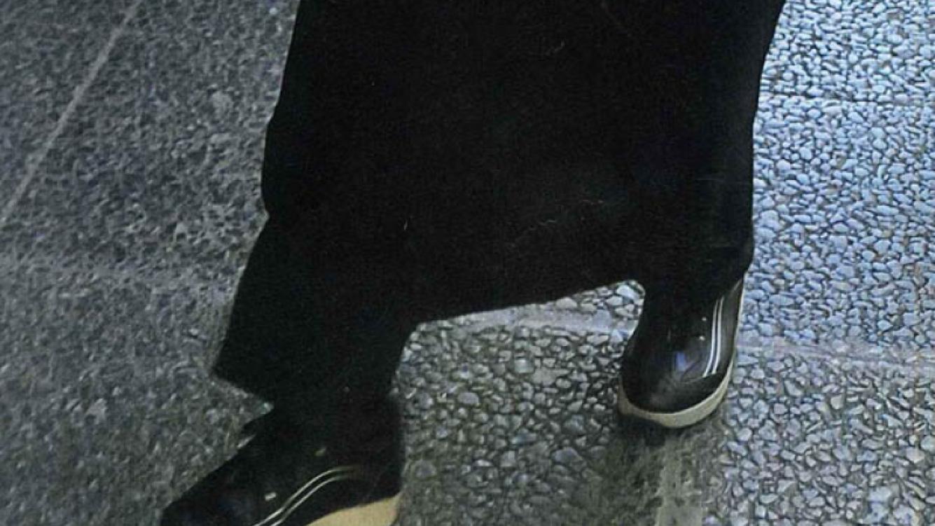 Las zapatillas para adelgazar que usa Antonio Gasalla (Foto: Revista Caras)