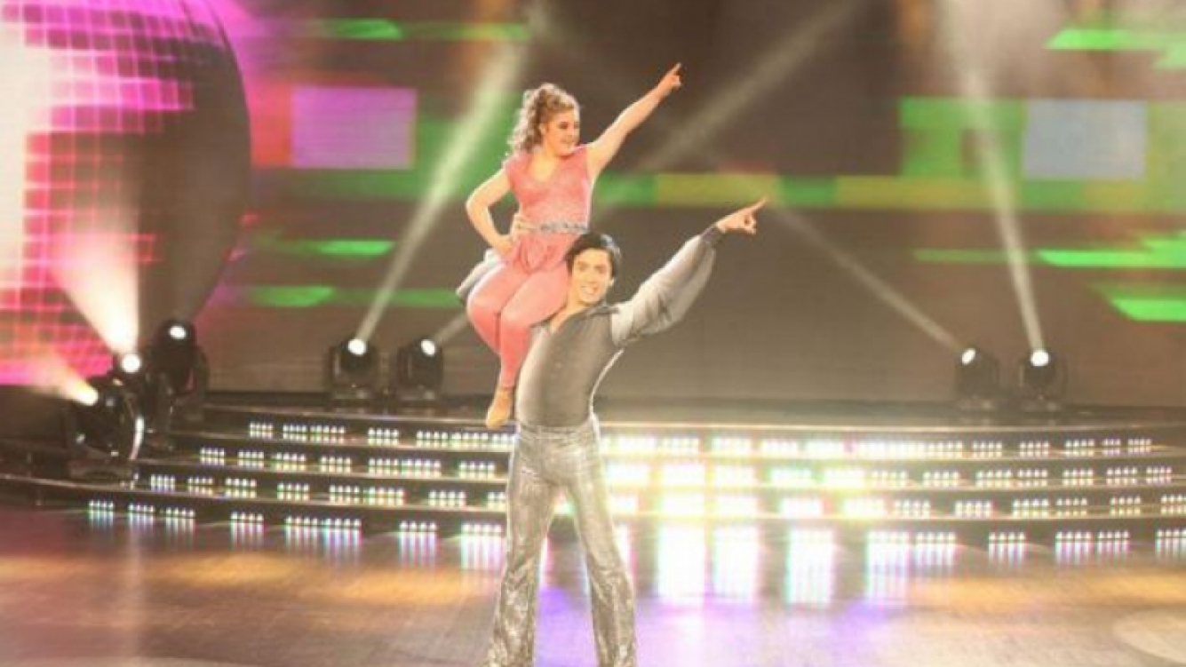 Ayelén Barreiro y su debut en ShowMatch. (Foto: Web)