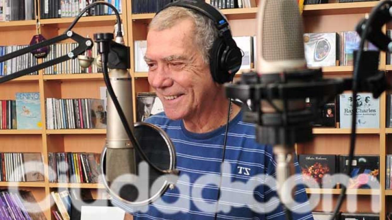 El conmovedor mensaje que dejó Juan Alberto Badía. (Foto: Ciudad.com)