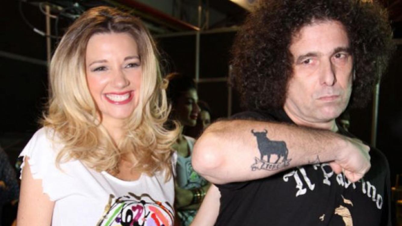 Andrés Calamaro sorprendió a Micaela Breque en un desfile